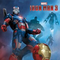 Iron Man 3 art.