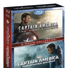 Captain America, 2 movie collection: (The First Avenger / The Winter Soldier) [Blu-ray]