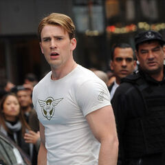 Steve Rogers in the present.