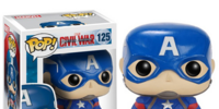 Pop Vinyls: Captain America: Civil War
