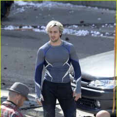 Aaron Taylor Johnson Quicksilver Concept Art