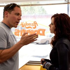 Behind the scenes with director Jon Favreau