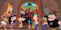 Phineas and Ferb: Mission Marvel/Gallery
