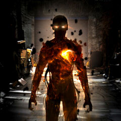 Concept art for Sunspot in <i>X-Men: First Class</i>.