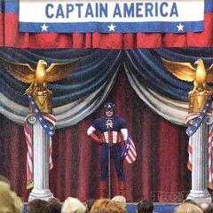 Steve Rogers USO Performer