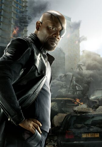 File:Nick Fury AOU Textless Poster.jpg
