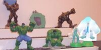 The Incredible Hulk toys (Burger King)