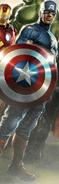 CAP STEVE ROGERS AVENGER