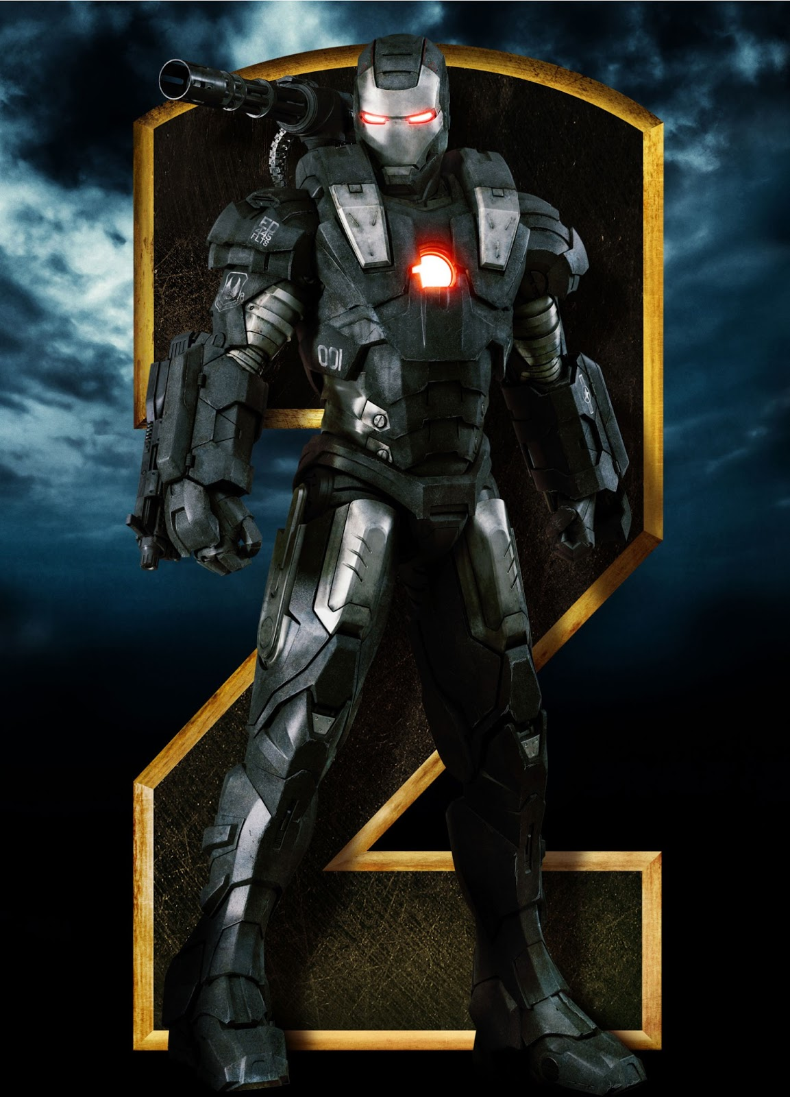Image - Iron-man-2-war-machine-character-poster.jpg   Marvel ...