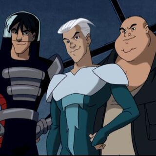 Blob pretends to join the X-Men.