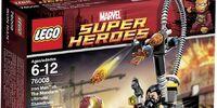 76008 Iron Man vs. The Mandarin: Ultimate Showdown