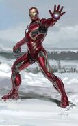 Iron Man's Mark 45 Armor Concept Art 02