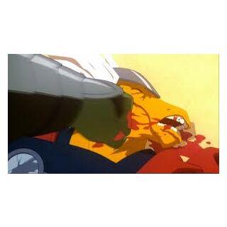Hulk attacking Beta Ray Bill