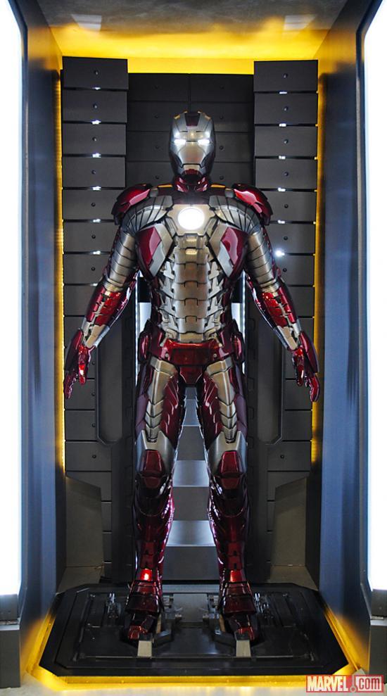 Mark Vii Iron Man Wiki Iron Man Armor Mark v