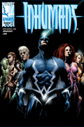 Black Bolt (Inhuman King) Cover