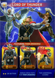Lord of Thunder Comic (Season VII) Offer