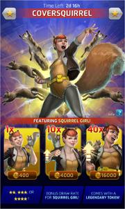 CoverSquirrel (Season XX) Offer