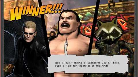 UMVC3 Haggar Quotes (W Eng & Jap Voices)