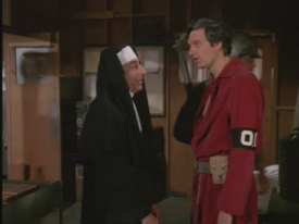 MASH episode-3x3-Officer of the Day-Klinger And Hawkeye as OOD