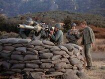 AA gun-5 oclock charlie