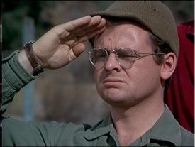MASH episode-3x24 Radar salutes Henry