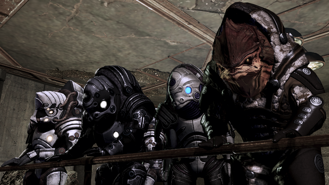File:Bunch of krogan, various armors.png