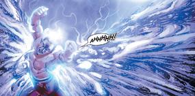 Con golpes a una chica, Kaidan pierde la razón.