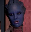 Aethyta la apariencia de un misterioso borracho Shepard