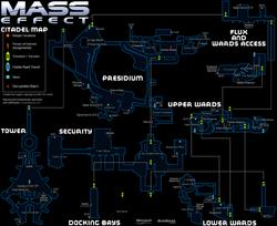 Mass effect citadel keeper map