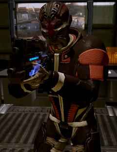 Batarian Commander ME2