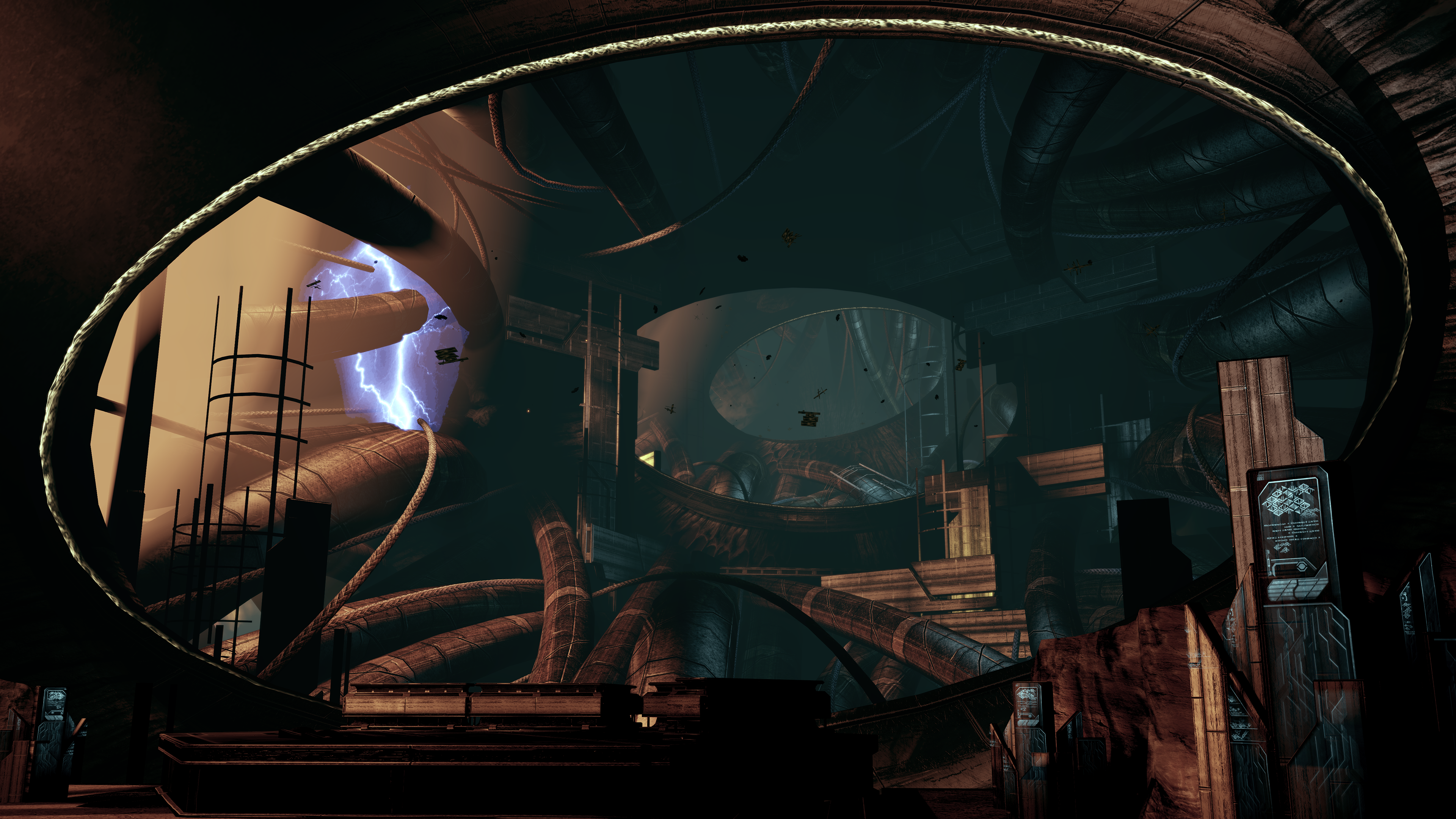 Full resolution  download. Image   Collector base interior design png   Mass Effect Wiki