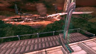 Eden Prime - Saren's objective