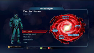ME3 Multiplayer Main Menu
