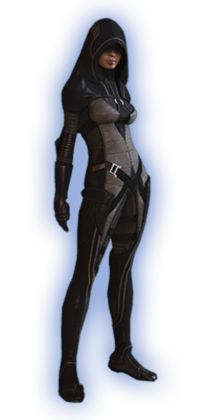 ME2 Kasumi Basic Outfit