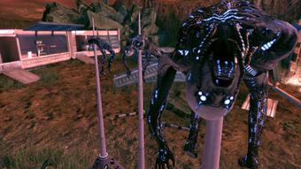 Eden Prime - dragon's teeth