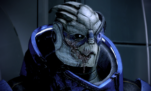 Garrus after his injuries