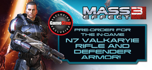 ME3 N7 Rifle and Defender Armor bonus