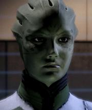 Shiala en Mass Effect 2