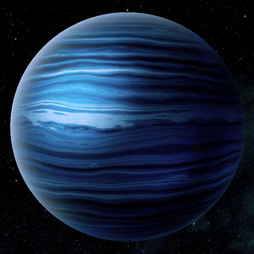 blue giant planet - photo #35