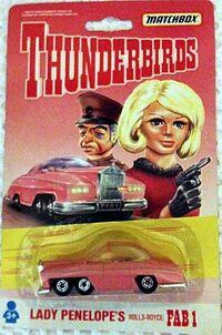 Thunderbirds - Lady Penelope - Rolls Royce - 1992