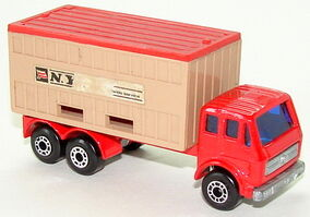 7642 Mercedes Container Truck
