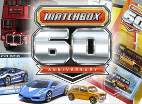 Matchbox 60th Anniversary Model
