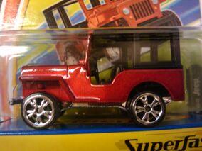 Superfast 1960 Jeep