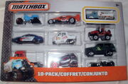 MATCHBOX 10 PACK 2015 Flame Smasher