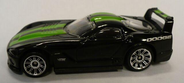 File:Viper GTSR Black GreenStripes.jpg