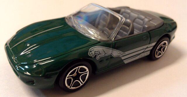 File:Jaguar XK8 Roadster green.jpg