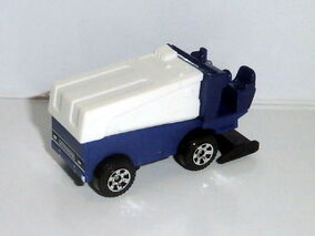Zamboni Ice Resurfacing Machine Casting
