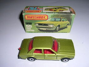 Ford Cortina (1979 Lime)