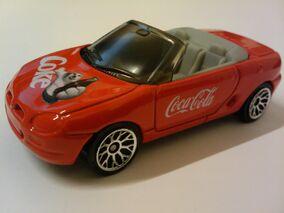 Coca Cola MGF 1.8i