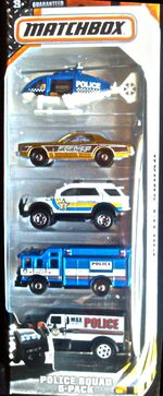 Police squad 5pack 2015